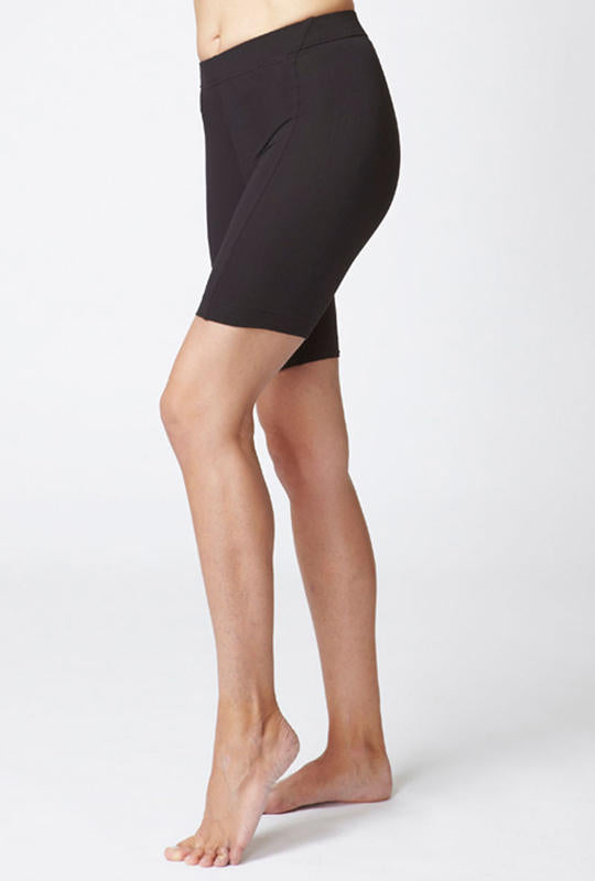 Medium Compression Biker Short Black