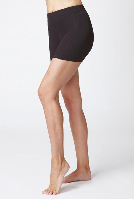 Medium Compression Micron Short Black