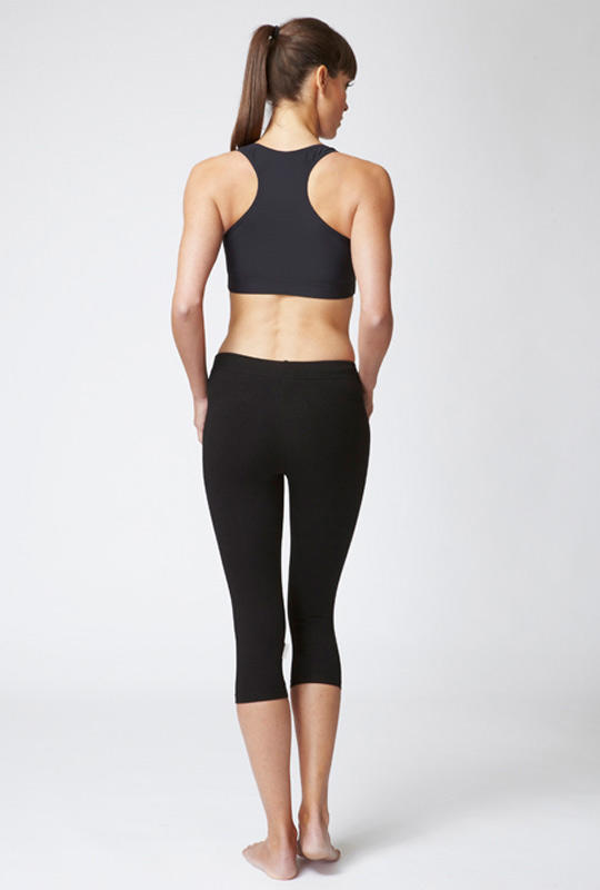 Medium Compression Cropped Leggings Black - SEO optimization