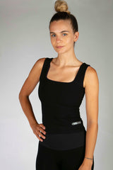 Reversible 4 Way Vest Snake/Black