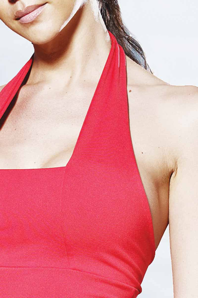 Elite Halter Vest Yoga Top