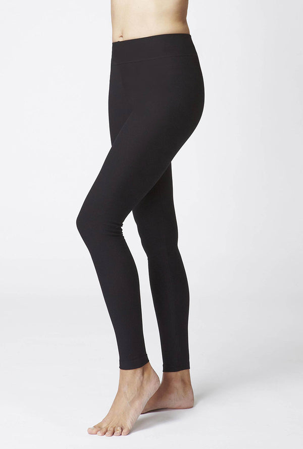 TLC Sport Ladies Compression Leggings Black