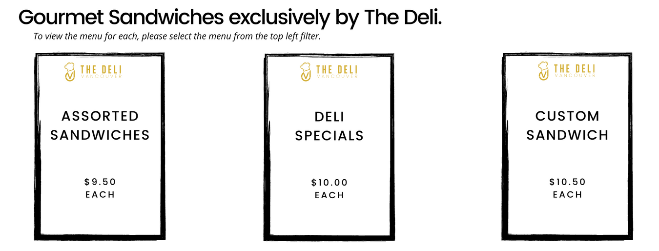 Deli® Sandwich Collection