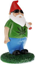 Load image into Gallery viewer, gnometastic pot smoking garden gnome angle