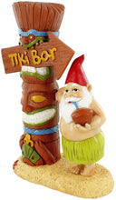 Load image into Gallery viewer, gnometastic tiki bar garden gnome angle