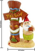 Load image into Gallery viewer, gnometastic tiki bar garden gnome ruler