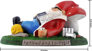 gnometastic retired and loving it garden gnome ruler