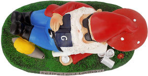 gnometastic retired and loving it garden gnome top
