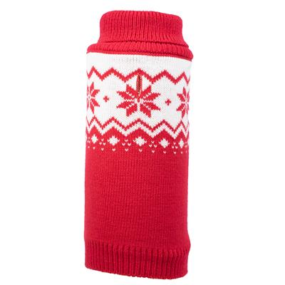 Fairisle Snowflake Sweater for Dogs