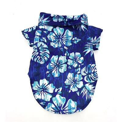 Hawaiian Shirt - Blue Hibiscus