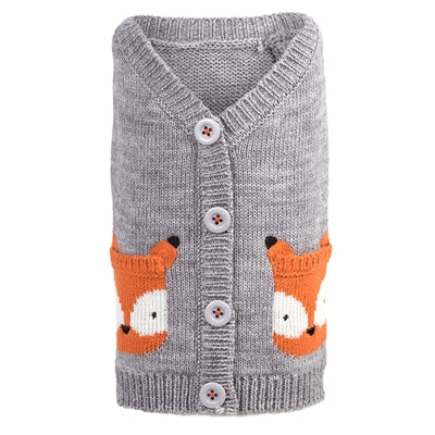 Fox Cardigan for Dogs