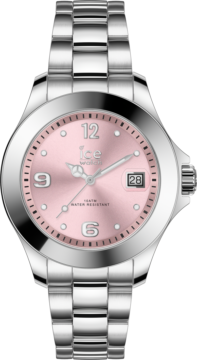 ICE WATCH Steel Classic Light Pink Sr Small 3H