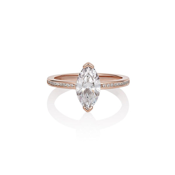 Georgini Heirloom Forever Ring Rose Gold
