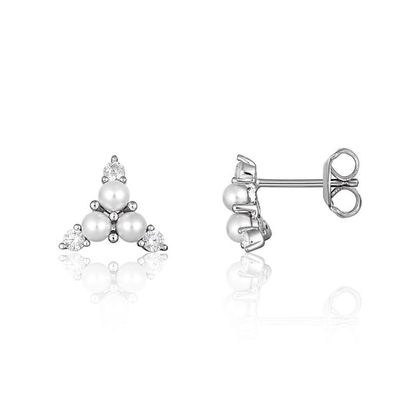 Georgini Heirloom Precious Earrings Silver