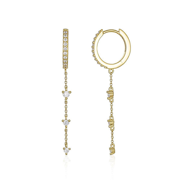 Georgini Heirloom Loved Earrings Gold
