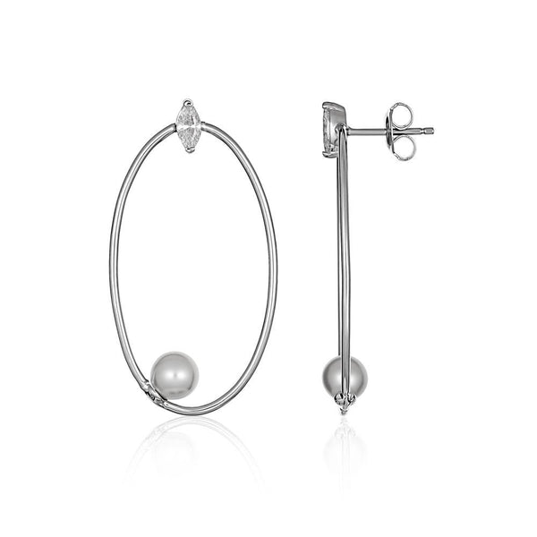 Georgini Heirloom Admired Earrings Silver