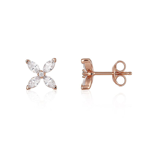 Georgini Heirloom Favoured Earrings Rose Gold