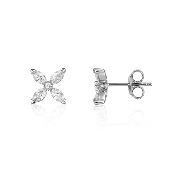 Georgini Heirloom Favoured Earrings Silver