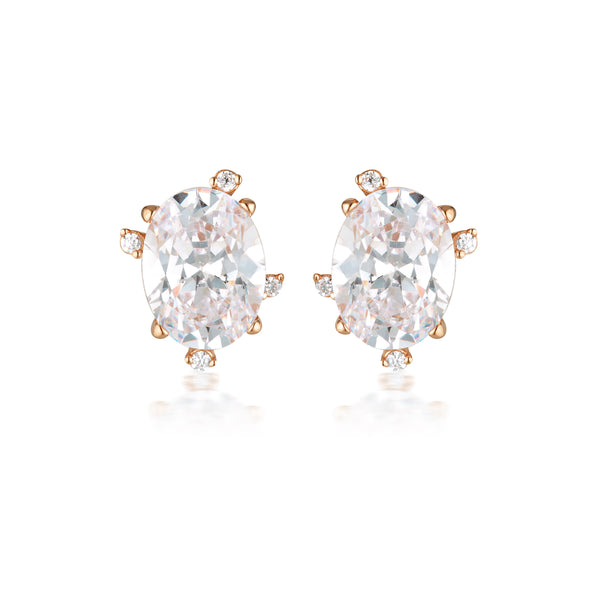 Georgini Aurora Southern Lights Earrings Rose Gold