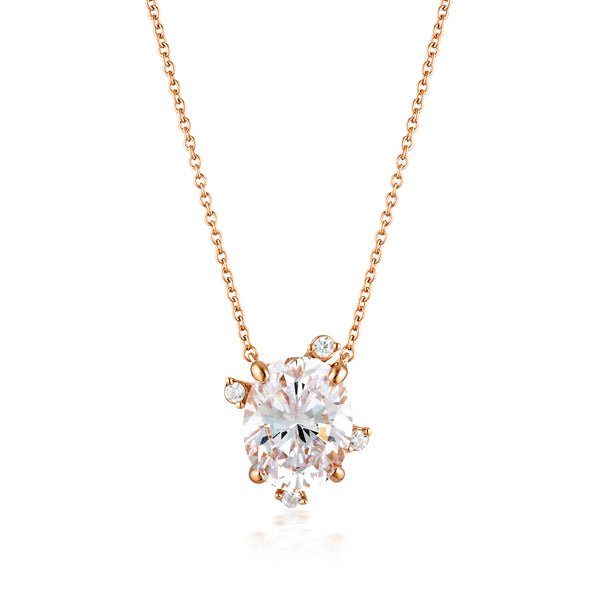 Georgini Aurora Southern Lights Pendant Rose Gold