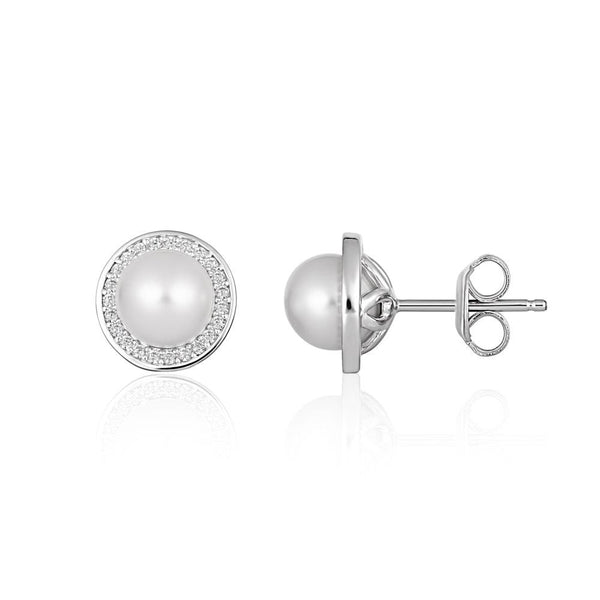 Georgini Heirloom Always Earrings Silver