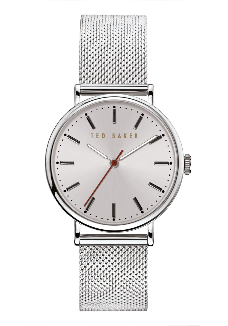 Ted Baker Phylipa Silver Mesh Watch
