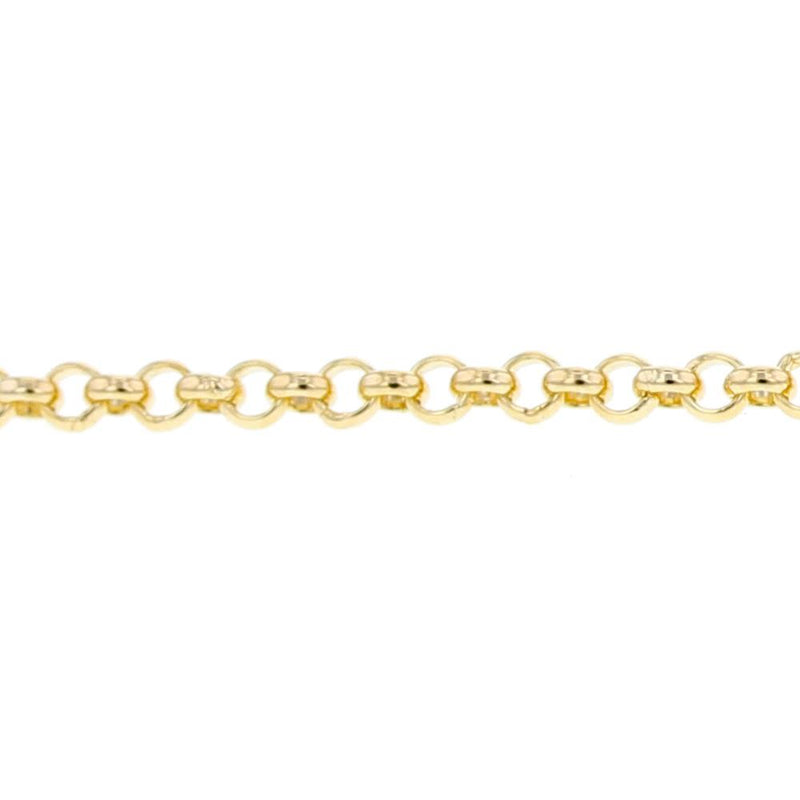 Fine Belcher Chain in 9ct Gold