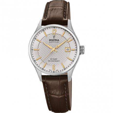 Festina Swiss Brown Watch