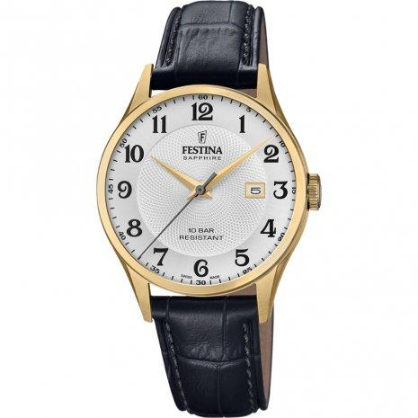 Festina Swiss Gold Case Watch