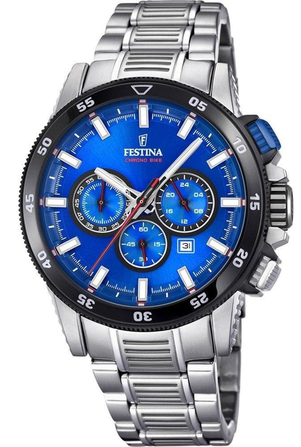 Festina Chrono Bike Blue Dial Watch