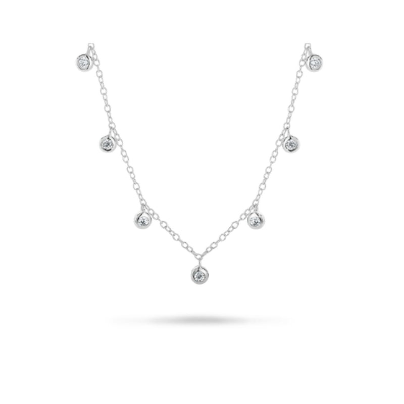 Georgini - Luster Sterling Silver Cubic Zirconia Necklet