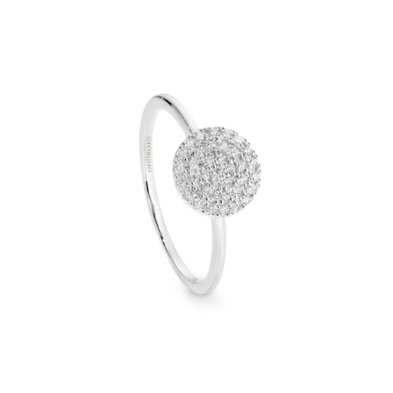 Georgini - Pavo Sterling Silver Cubic Zirconia Ring