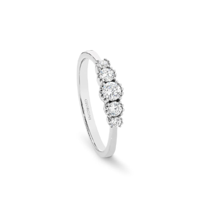 Georgini - Mantle Sterling Silver Cubic Zirconia Ring