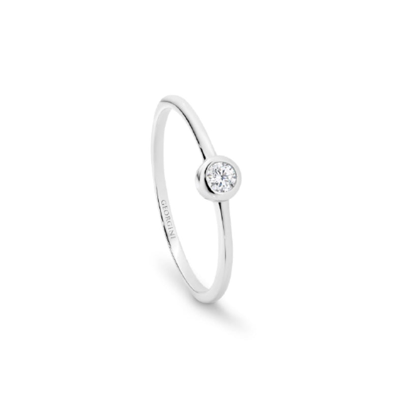 Georgini - Oasis Sterling Silver Cubic Zirconia Ring