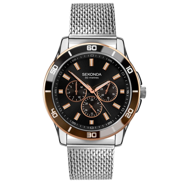 Sekonda Men's Multifunction Milanese Bracelet Watch SK1841