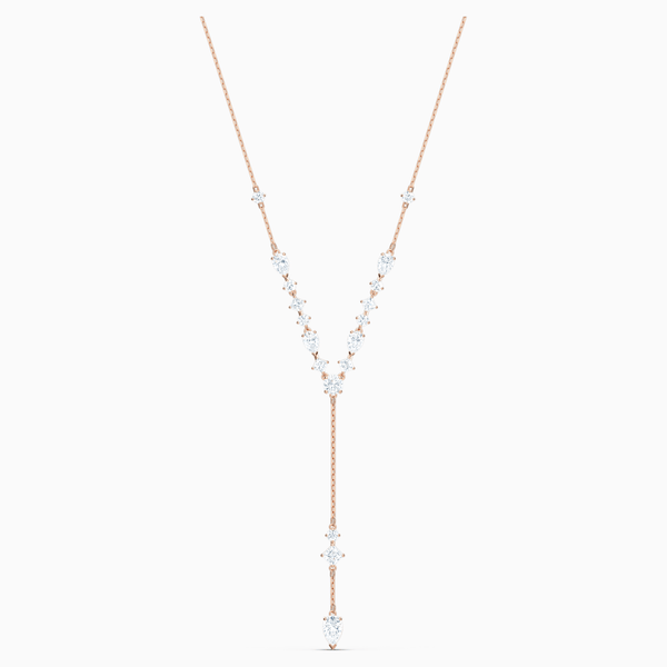 Swarovski  White Attract Y Necklace