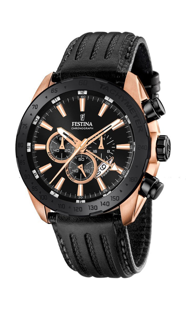 Festina Prestige Black Watch