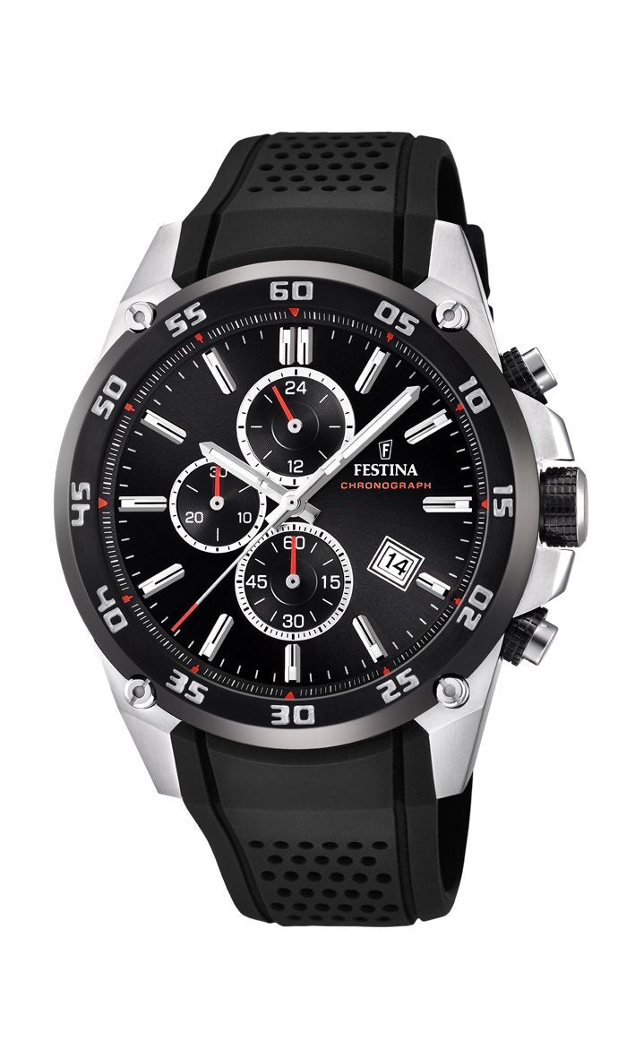 Festina Originals Black Chronograph