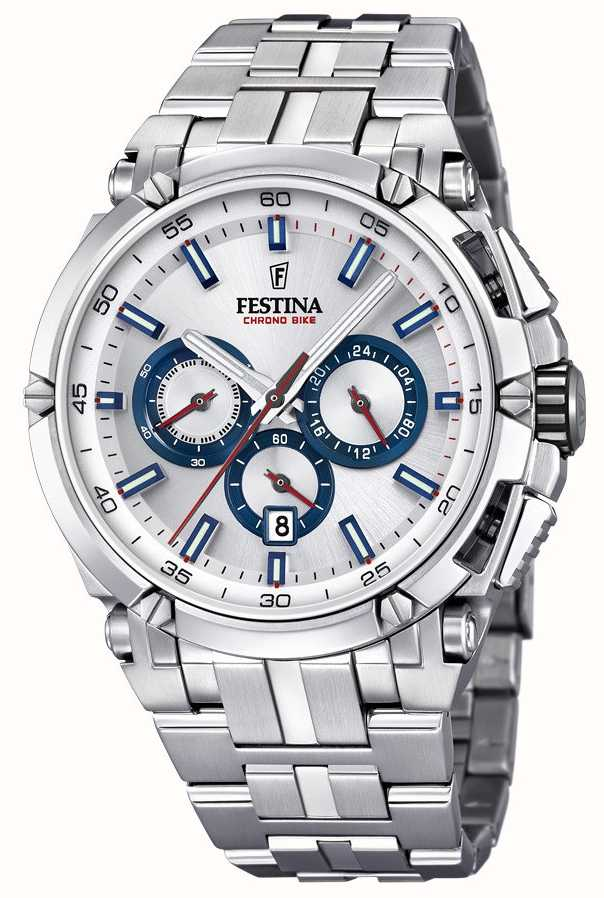 Festina Chrono Bike Silver Watch