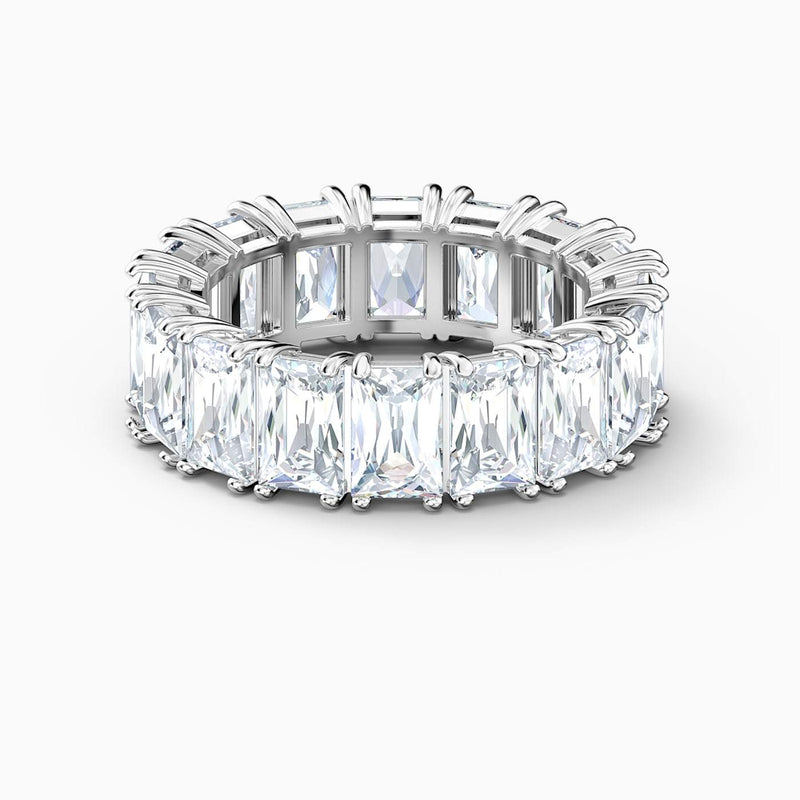 Swarovski White Vittore Wide Ring