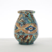 Load image into Gallery viewer, Mosaic vase by master ceramicist Jean Gerbino