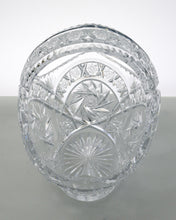 Load image into Gallery viewer, Vintage lead crystal cut glass fruit baskets