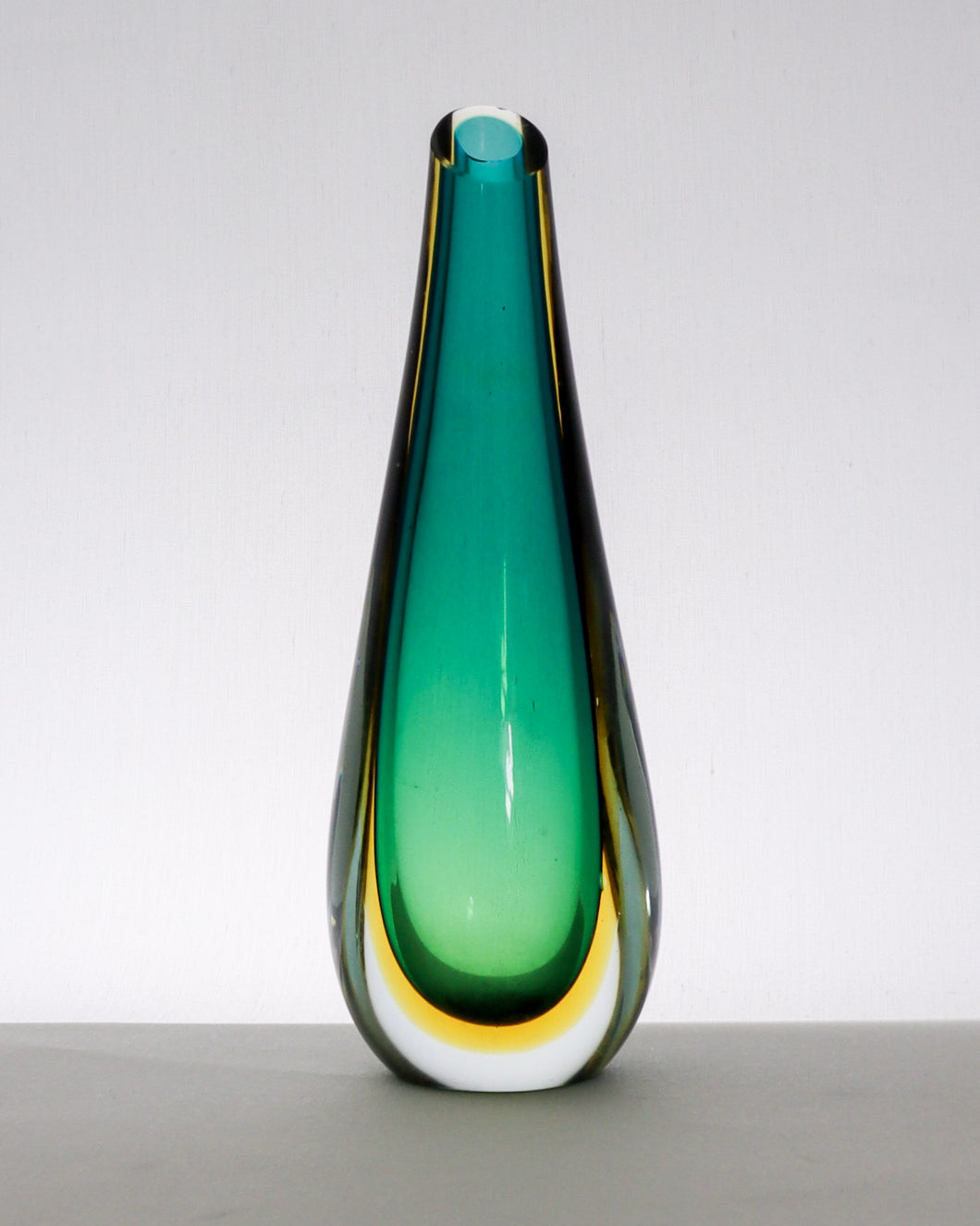 Wonderful teardrop stem vase