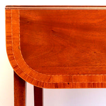 Load image into Gallery viewer, Good quality mahogany and inlaid Pembroke table