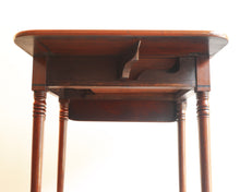 Load image into Gallery viewer, Small mahogany side table