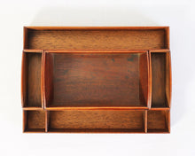 Load image into Gallery viewer, Beautiful and unusual mahogany writing box