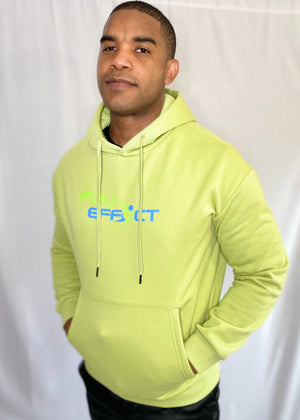Full Effect Active Green Unisex Athletic Hoodie | Unisex Clothing
