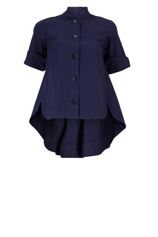 Comet Navy Ladies Shirt