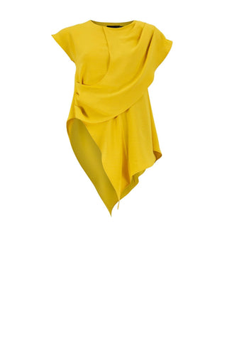 INDIA Canary Yellow Ladies Top