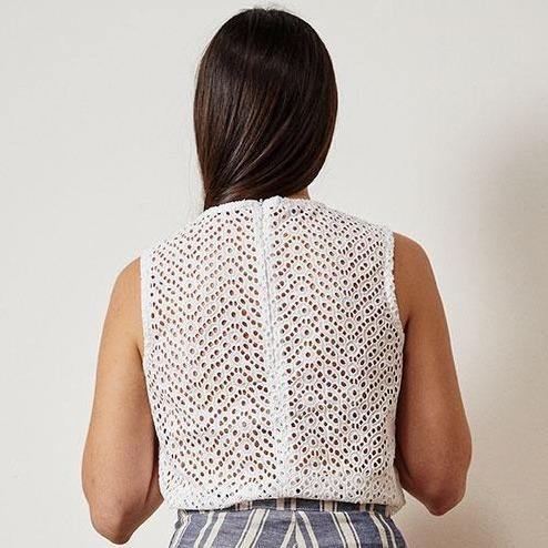 The Other Lace Top - White